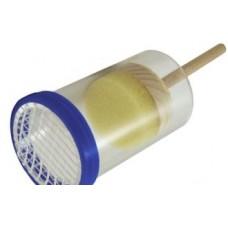 Трубка для мечения маток с пластиковым поршнем.