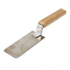 Лопатка для меда с плоским полотном из нержавейки