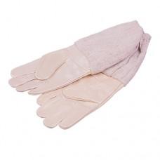 !Кожаные перчатки с нарукавниками «Spilk-X Серые XL» размер 10