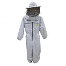 Комбинезон пчеловода с лицевой сеткой, двойной  Арт. 6022