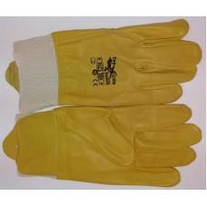Перчатки защитные, кожанные для рук