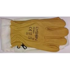 !Кожаные перчатки с нарукавниками «LYSON» размер ХХL