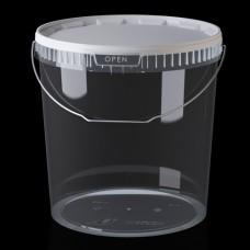 Ведро 20.0 литров с крышкой и ручкой.
