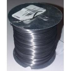 Проволока для рамок 0,4 ммна металлической катушке 500 гр. нержавеющая сталь.