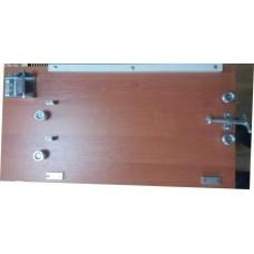 Станок для натягивания проволоки в рамки, деревянный