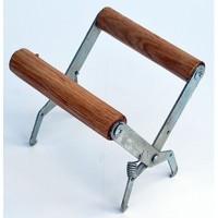 Захват для рамок с деревянной фигурной ручкой из дерева