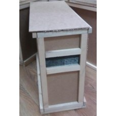 Ящик для перевозки пчелопакетов на 4 рамки