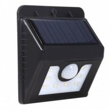 Светильник светодиодный, настенный на солнечной батарее с датчиком движения и освещенности (фотореле), 32 LED  LAMPER 602-210
