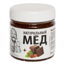 Мёд «взбитый» с фундуком и какао