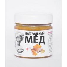 Мёд «взбитый» с куркумой и имбирем