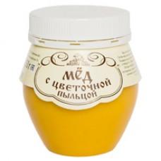 Мёд с цветочной пыльцой