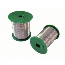 Проволока для рамок 0,4 мм 240г нержавеющая сталь
