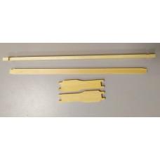 """Рамки для ульев """"Дадана-Блатта"""" магазинные, 435х145мм, не сбитые, без отверстий."""