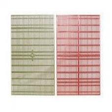 Решетка разделительная пластмассовая универсальная (комплект 2 шт).